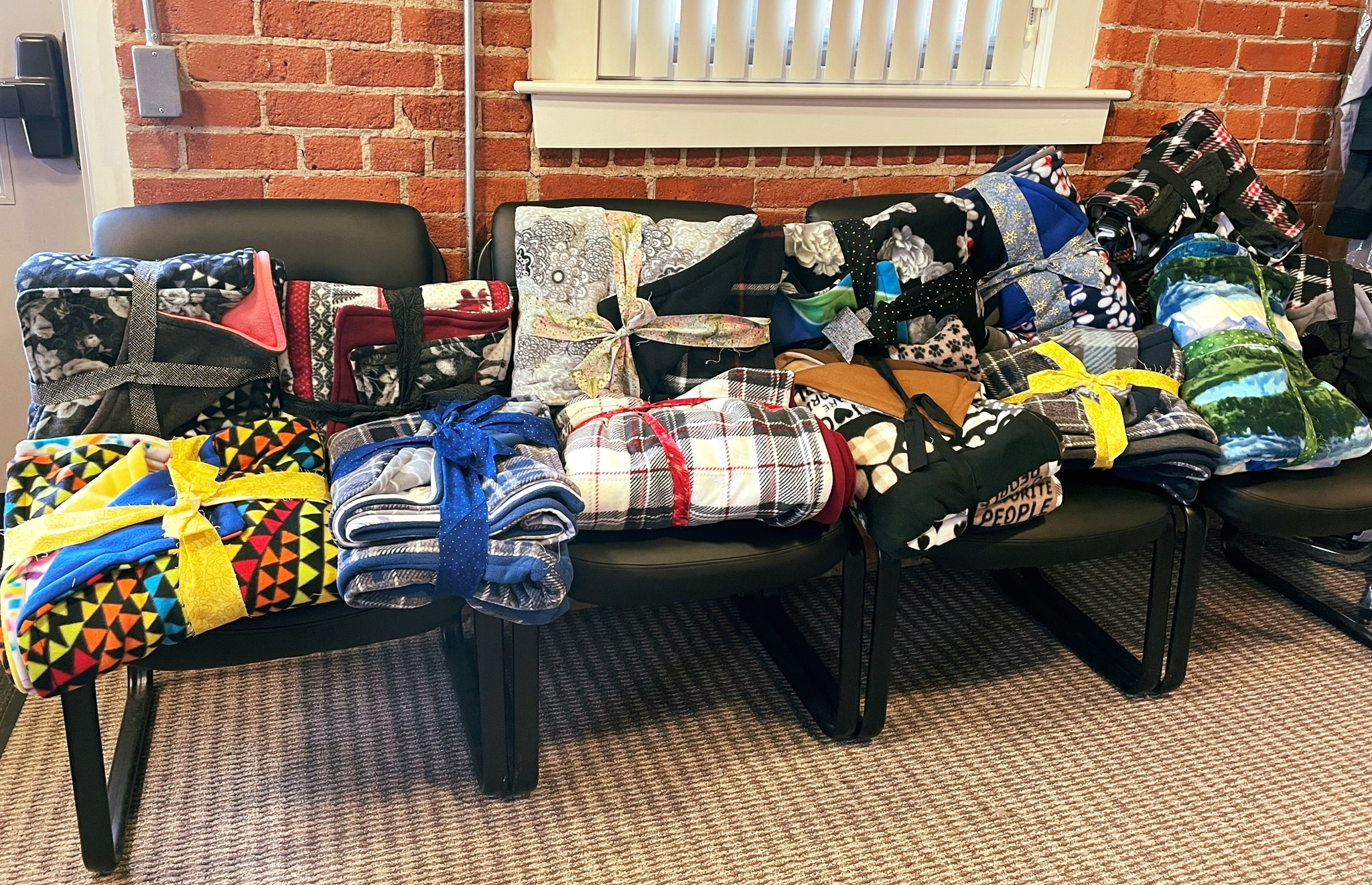 Industrious Parishioner Warms Local Unsheltered with Quarantine Blanket Project