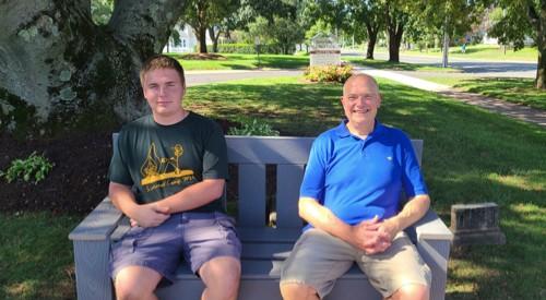 Eagle Scout Project Benefits, Beautifies Parish Grounds